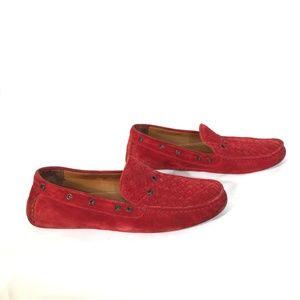Bottega Veneta Woven Suede Loafers-   EU 45 US 12